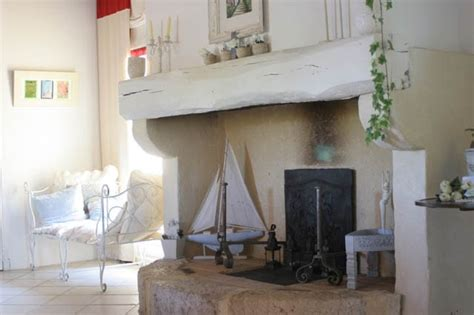 Shabby Overly Chic shabby chic winter fireplaces