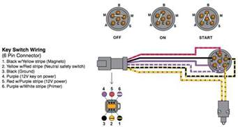 mercury key switch wiring diagram circuit diagram free
