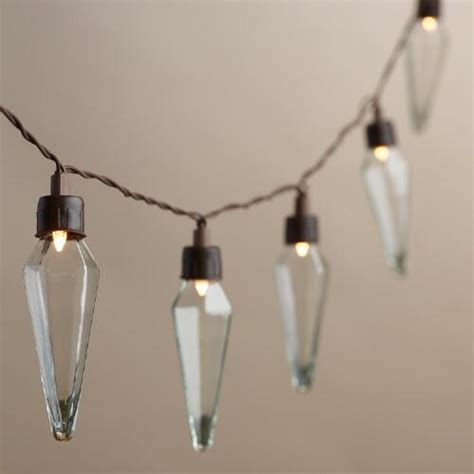 Clear Prism Solar Led 20 Bulb String Lights World Market Market String Lights