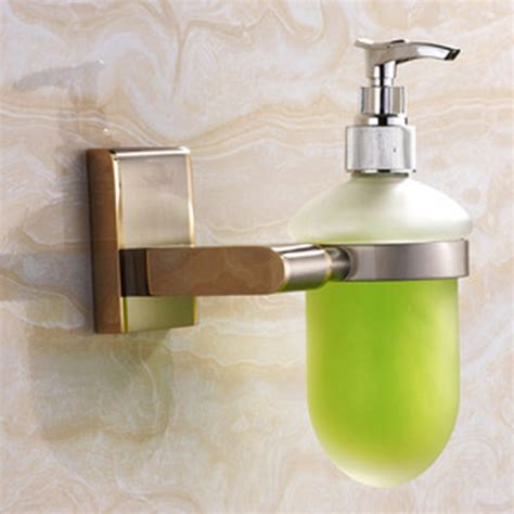 bench mounted soap dispenser wall mounted soap dispenser brushed nickel automatic