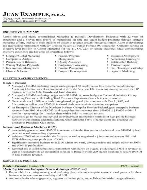 marketing resume exles 2014 international business international business plans sle