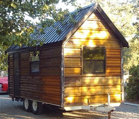 little house on wheels little chalet tiny house on wheels