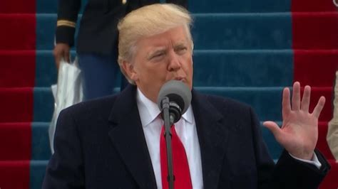 donald trump inauguration speech inaugural address trump s full speech cnnpolitics com