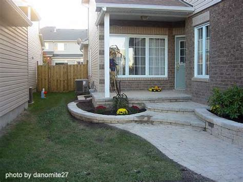 Add Curb Appeal - concrete porch steps concrete floor stain concrete flooring