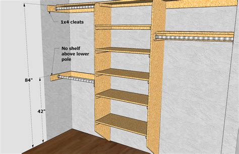 Closet Shelf Diy by Corner Closet Shelves Diy Corner Closet Organizer Helps