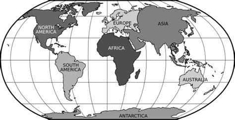 world rob continents clip at clker vector clip