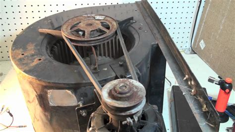 belt driven squirrel cage fan belt tensioning for belt drive blowers youtube