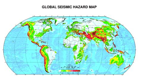 earthquake zones in the world earthquake world map seismic activity
