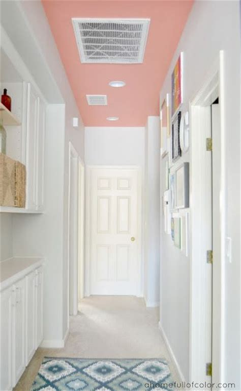 want to keep a hallway white without it looking too