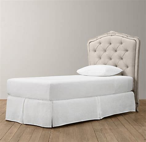 restoration hardware tufted headboard upholstered beds guest rooms and tufted headboards on
