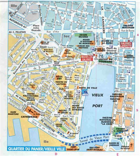 map of marseille marseille map images