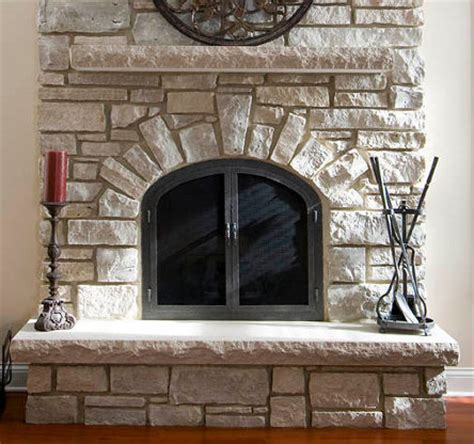 Decorative Stones For Fireplace by Decorative Fireplace Stones Home Design
