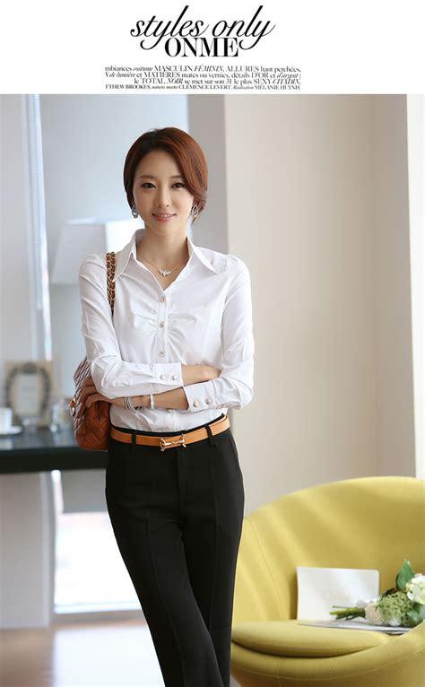 Kemeja Wanita Kerja Putih kemeja kerja wanita putih modis model terbaru jual murah import kerja