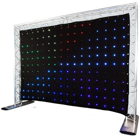 chauvet motion drape chauvet motion drape led motion drape led 3 x 2 metre