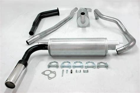 volvo 240 muffler simons aluminized steel exhaust system 1x80mm volvo