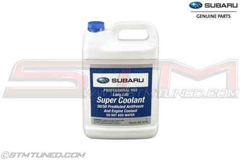 subaru genuine coolant stm genuine oem subaru coolant soa868v9270