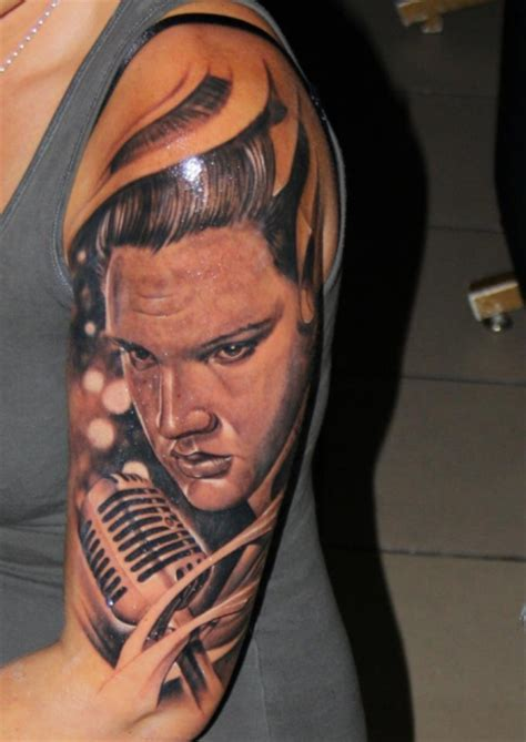 elvis tattoos de elvis pictures to pin on