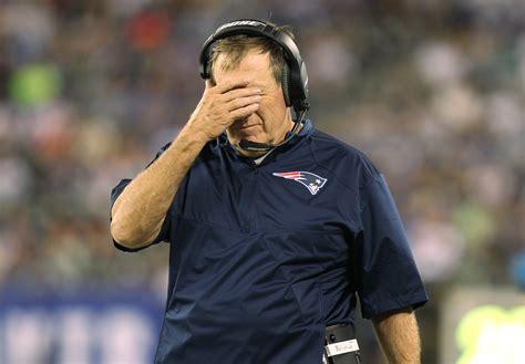 patriots couch patriots coach bill belichick knows his football