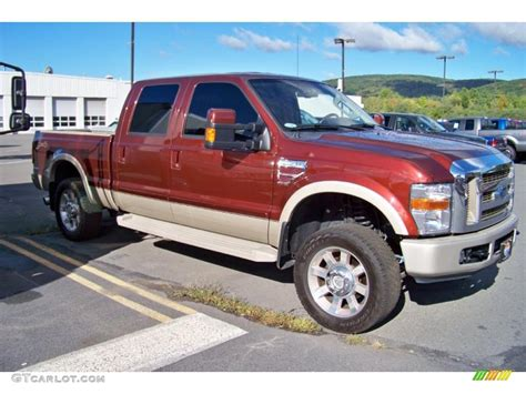 2008 ford f250 paint colors