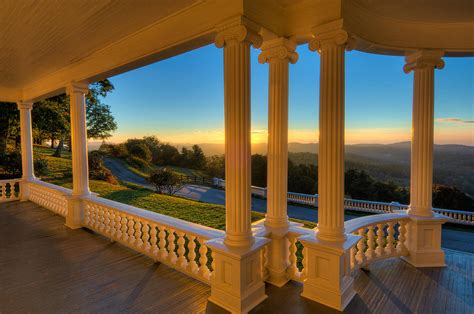 flat top manor house moses cone manor house at sunrise photograph by kevin adams