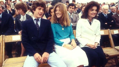 caroline kennedy s children kennedy sits between her brother and mother in 1977