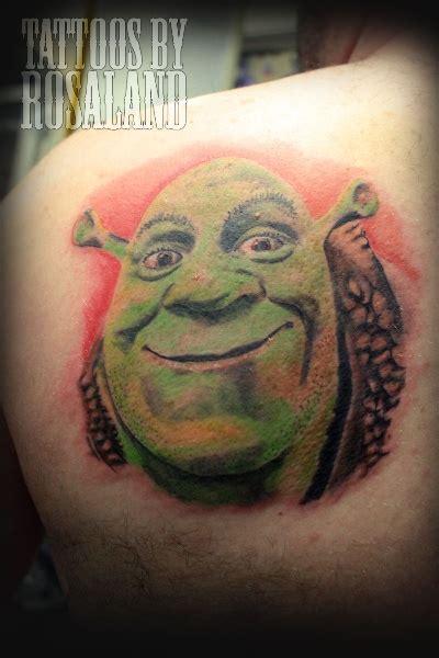 shrek tattoo pin shrek 4 d the free encyclopedia on