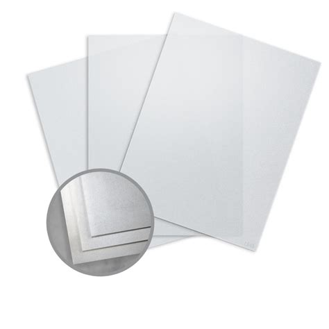 Perforated Paper Pp6 Silver silver paper 8 1 2 x 11 in 27 lb bond translucent iridescent curious translucents paper 3 cur069