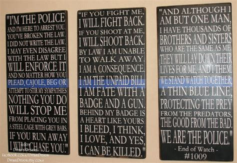 police officer home decor police sign law enforcement sign police decor distressed