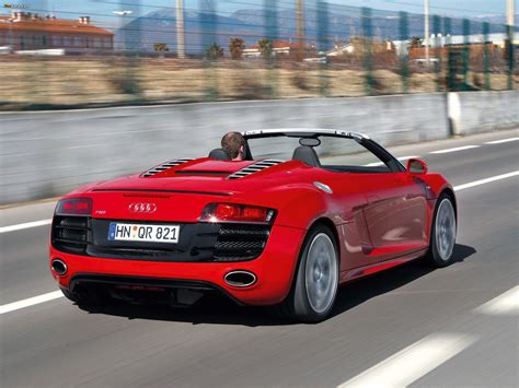2009 audi r8 spyder related infomation specifications