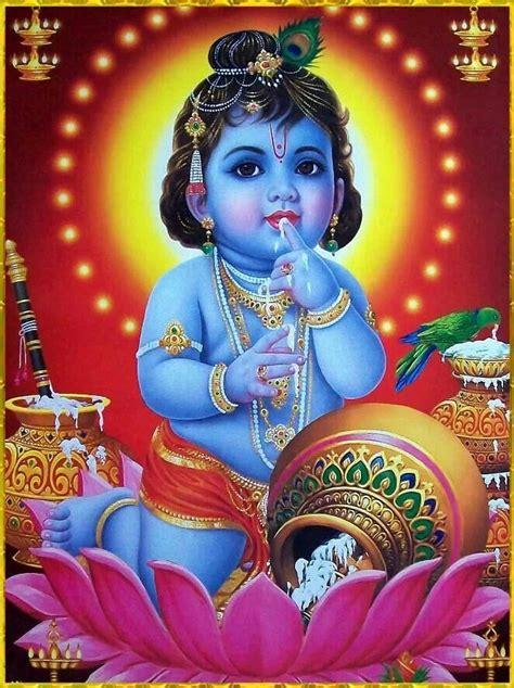 baby krishna god 75 best sri krishna child age images on