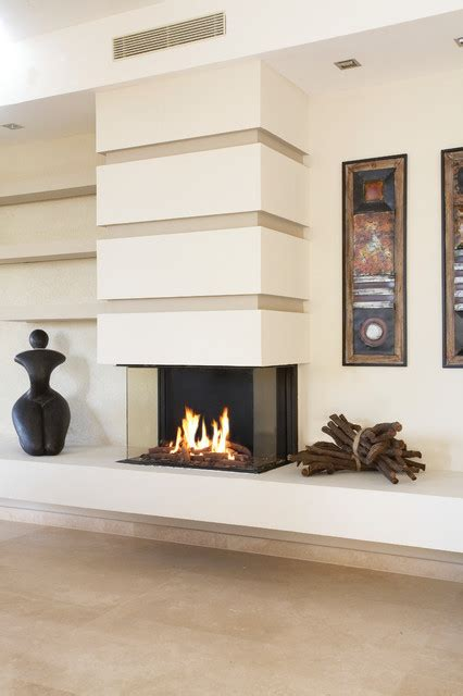 houzz fireplace ideas ortal usa clear 75 ts contemporary living room los