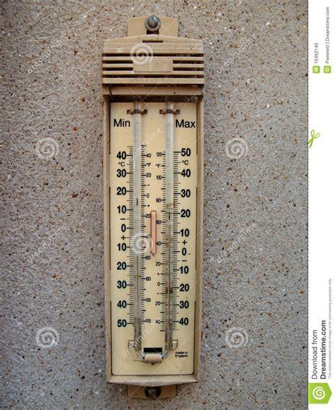 Termometer Outdoor utomhus termometer arkivfoto bild 10462140
