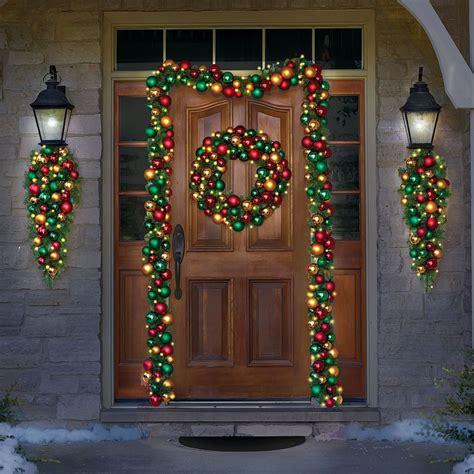 christmas pre lit garland