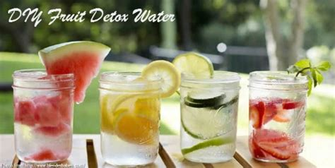 Detox Water With Just Fruit by 20 Delicious Detox Waters To Cleanse Your And Burn