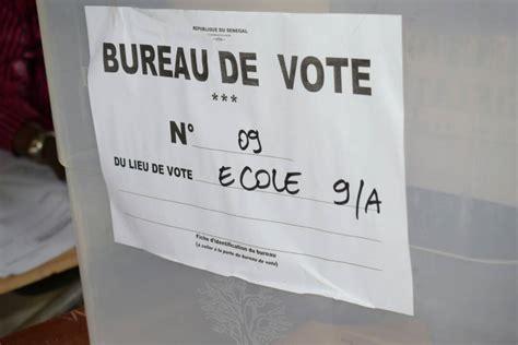 qui peut tenir un bureau de vote pikine bureau de vote n 176 9 231 a sent le roussi