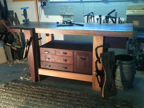 roubo woodworking bench roubo bench by smitty cabinetshop lumberjocks com