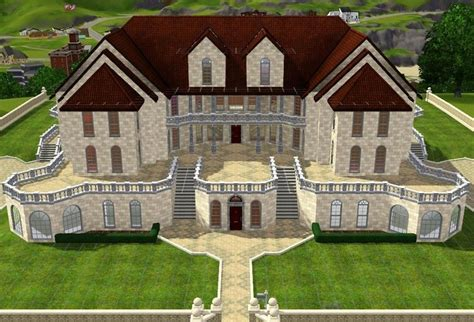 Sims 3 House Plans Mansion The Sims House Floor Plans Sims 3 Probz Sims House Sims And House