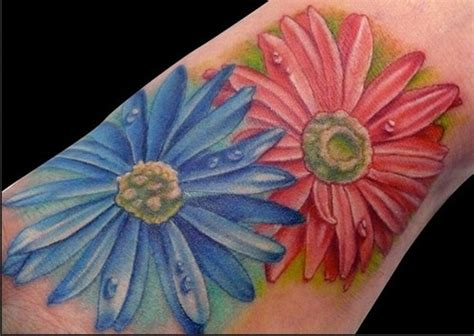 aster flower tattoo designs the world s catalog of ideas