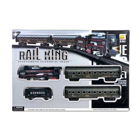 Mainan Rail King Kereta Api 13pcs jual pusat mainan anak 19033 7 kereta api rail king set