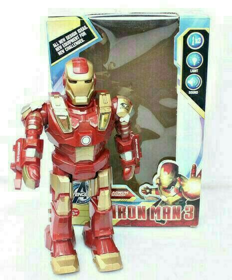 Robot Captain America Hobi jual mainan robot iron captain america