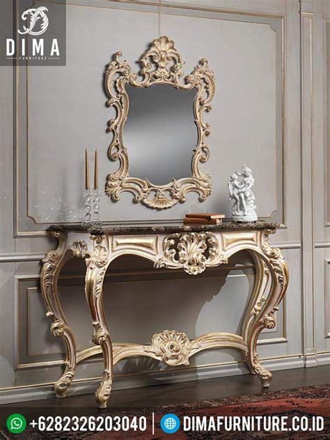 Meja Konsul Cermin meja konsul cermin hias klasik mebel jepara mewah meja konsol mewah df 0335 dima furniture