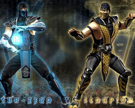 imagenes de scorpion vs sub zero mortal kombat a hist 243 ria de sub zero e scorpion s 233 rie