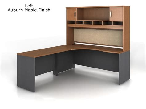 bush l shaped desk bush series c l shape desk bundle with hutch