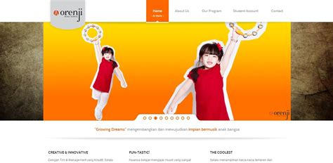 Orenji Top 1 top branding jasa pembuatan website jakarta