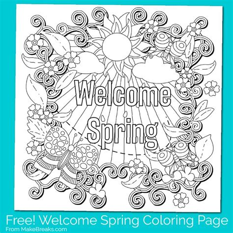 66 best coloring seasons spring summer images on