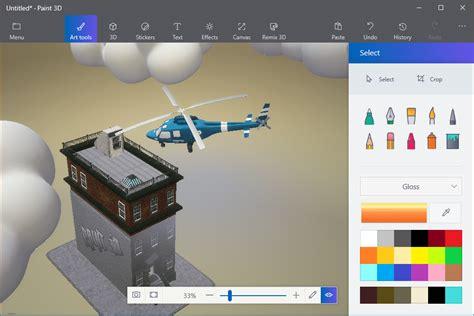 paint 3d 5 ways to create 3d art using the paint 3d toolbar