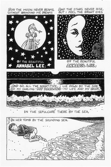 annabel lee by edgar allan poe annabel lee by edgar allan poe julian peters comics