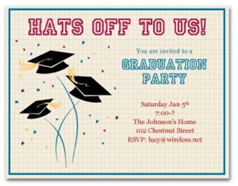 graduation celebration card design templates printable grad invitation template