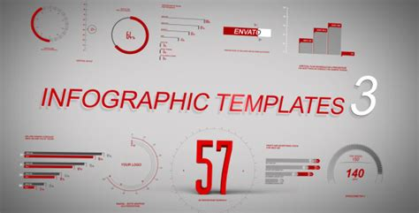Infographic Template 3 By Perrycox Videohive After Effects Infographic Template