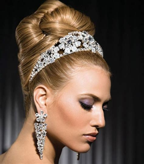 wedding hairstyles updo with tiara wedding hairstyles with tiara updos hair